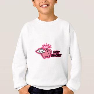 holy smoker logo pink tif sweatshirt