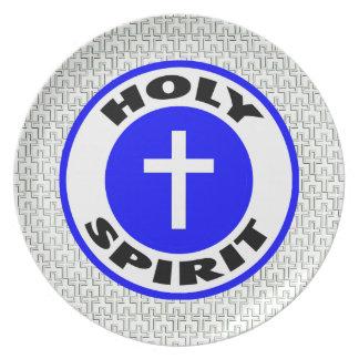 Holy Spirit Dinner Plate
