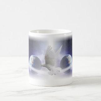 Holy Spirit Dove Art Bible Mug