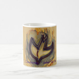 "Holy Spirit Dove, ""...Comforter..."" John 14:16,... Coffee Mug"