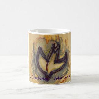 "Holy Spirit Dove, ""...Comforter..."" John 14:16,... Classic White Coffee Mug"
