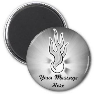 Holy Spirit Dove Flame Design Magnet