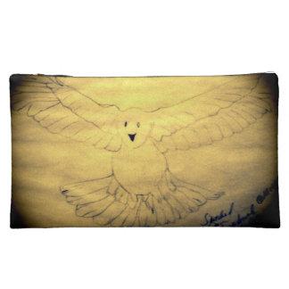 Holy Spirit Dove Makeup Bag