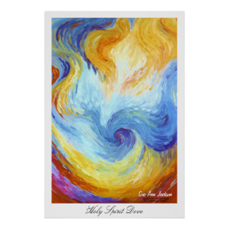Holy Spirit Dove Poster
