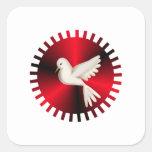 Holy Spirit Dove Square Sticker