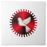 Holy Spirit Dove Tile