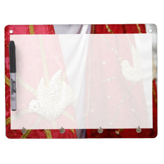 Holy Spirit doves Dry Erase Board With Keychain Holder