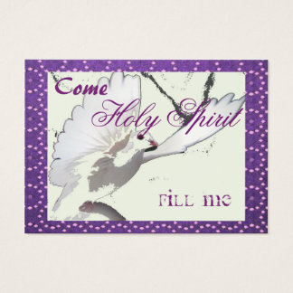 Holy Spirit  Fill Me Card