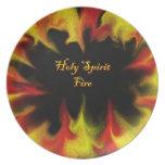 Holy Spirit Fire Plate