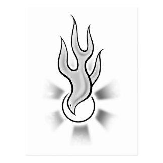 Holy_Spirit_Flame_Dove Postcard