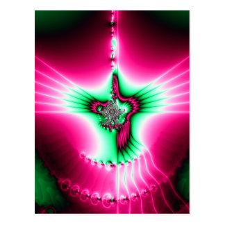 Holy Spirit Fractal Postcard