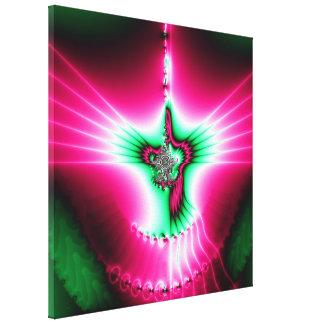 Holy Spirit Fractal Stretched Canvas Prints