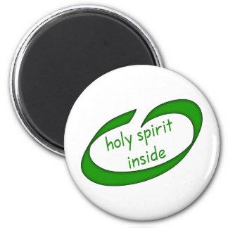 Holy Spirit Inside Christian Magnet