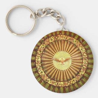 Holy Spirit painting Keychain