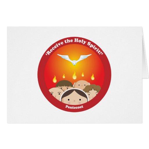 Holy Spirit Pentecost Card