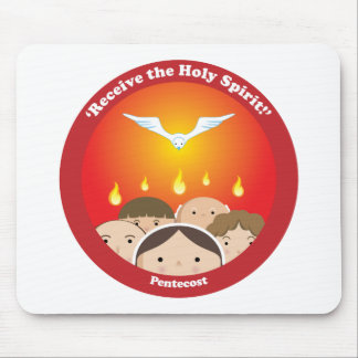 Holy Spirit Pentecost Mouse Pad