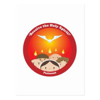 Holy Spirit Pentecost Post Card