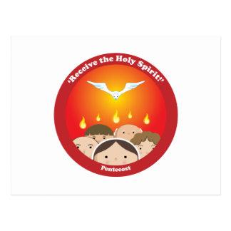 Holy Spirit Pentecost Postcard