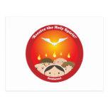 Holy Spirit Pentecost Postcards