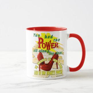 Holy Spirit Power Ruby Slippers Sytling Mug