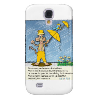 Holy Spirit Raining Down on the Earth. Galaxy S4 Cases