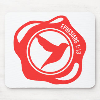 Holy Spirit Seal Mouse Pad