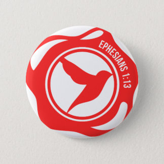 Holy Spirit Seal Pinback Button
