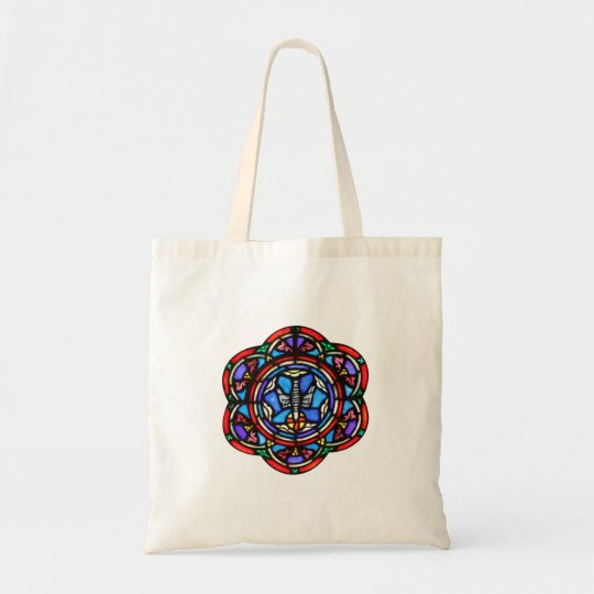 Holy Spirit Stained Glass Ar Tote Bag