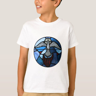 Holy Spirit Stained Glass Art T-Shirt