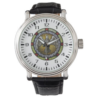Holy Spirit Stained Glass Confirmation RCIA Watch