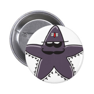 HOLY STARFISH! PINBACK BUTTONS