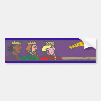 Holy three kings the three Wise Men Car Bumper Sticker