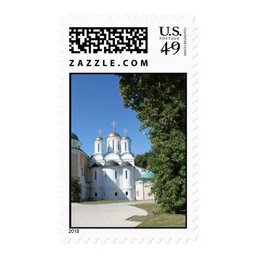 Holy Transfiguration sobor Postage Stamp