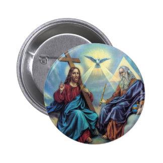 Holy Trinity Button