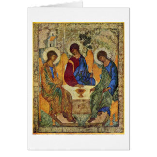 Holy Trinity By Andrei Rublev Card