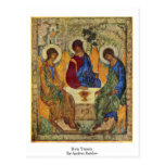Holy Trinity By Andrei Rublev Postcard