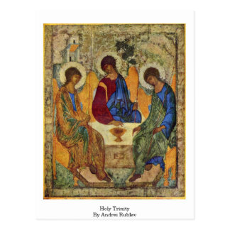 Holy Trinity By Andrei Rublev Post Card
