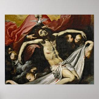Holy Trinity by Jusepe de Ribera Poster