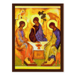 Holy Trinity By Rublã«V Andrej (Best Quality) Postcards