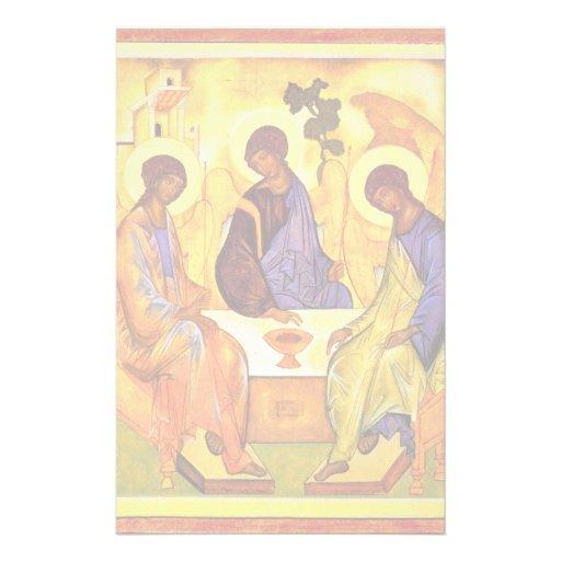 Holy Trinity By Rublã«V Andrej (Best Quality) Stationery Design