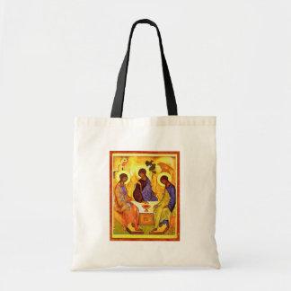 Holy Trinity By Rublã«V Andrej (Best Quality) Tote Bag