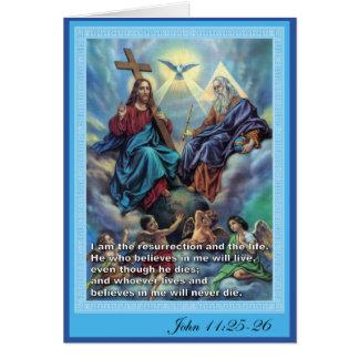 Holy Trinity Card