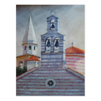 Holy Trinity Church,  Budva, Montenegro Postcard