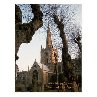Holy Trinity Church, Stratford upon Avon Postcard