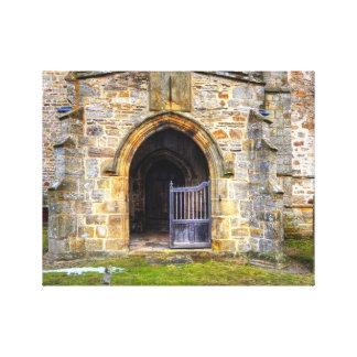 Holy Trinity Church Wensley Canvas Prints