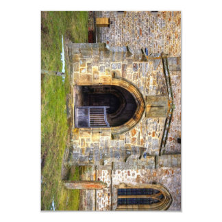 Holy Trinity Church, Wensley 3.5x5 Paper Invitation Card