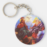 Holy Trinity Father Son Holy Spirit Keychain