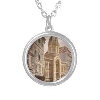Holy Trinity Greek Church, Vienna by Rudolf Round Pendant Necklace