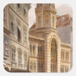 Holy Trinity Greek Church, Vienna by Rudolf Square Sticker