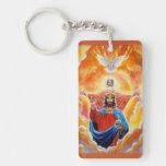Holy Trinity in Glory Keychain